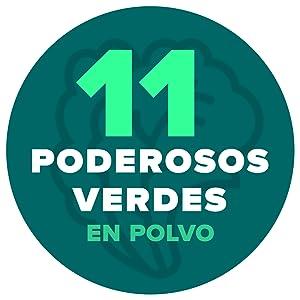 11 Poderosos Super Verdes en Polvo