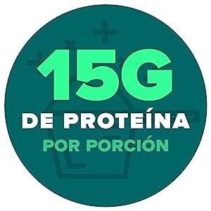 15 Gramos de Proteína por Porción