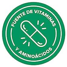 Fuente Natural de Vitaminas, Vitaminas y Minerales, Aminoácidos