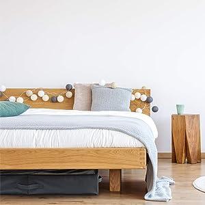 Diseño compacto para uso bajo de la cama