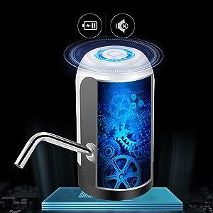 Despachador de Agua Electrico Incorporado de Doble Parachoques
