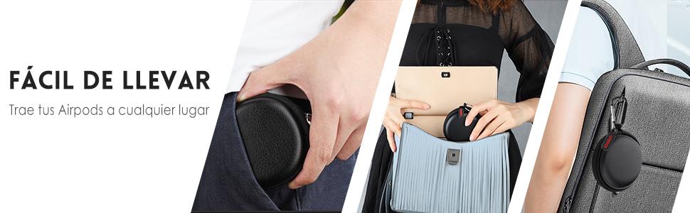 apple airpods1 2 case accesorios caso correa funda bluetooth inalambricos audifonos skin android box