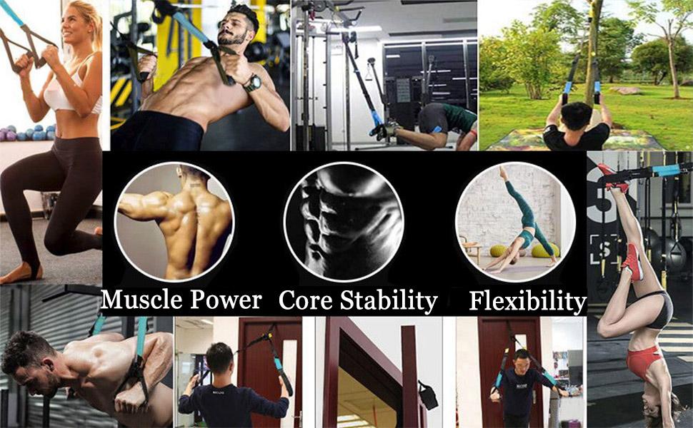 b6f0c9956 Fitness Training Pro Suspension System Training Kit Professional Gym ...