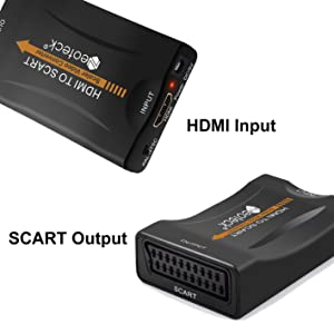 HDMI to SCART