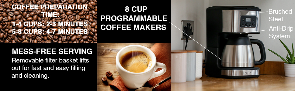 Netta 1L Coffee machine