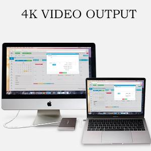4K VIDEO OUTPUT