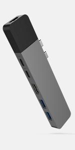 Hyperdrive 6-in-2 USB C Hub