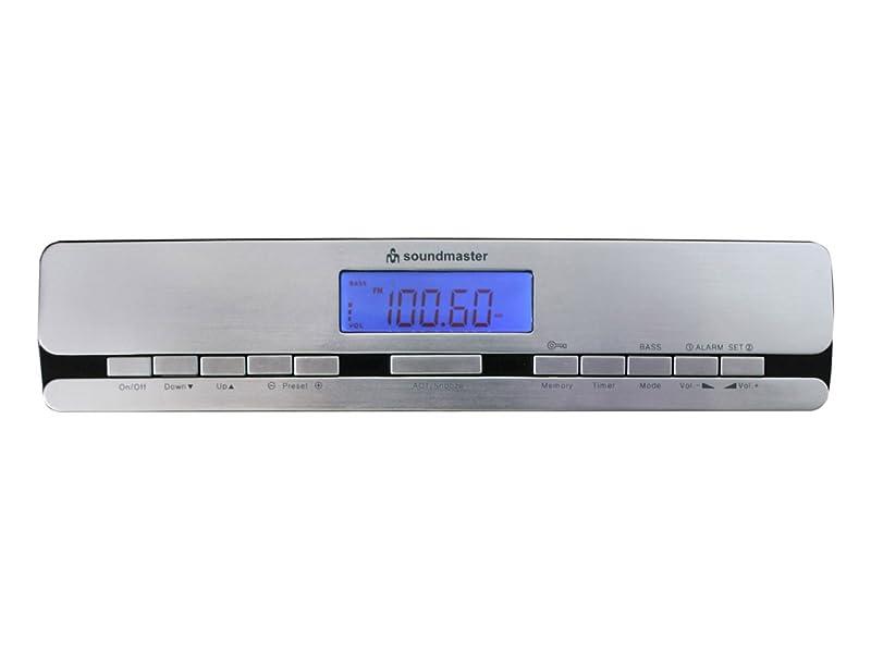 Soundmaster Highline UR2006 Under Cabinet FM Kitchen Radio (Silver ...