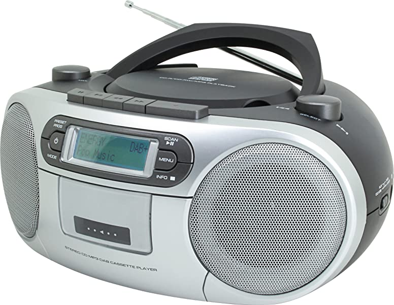 soundmaster scd7900 portable fm dab radio cassette cd. Black Bedroom Furniture Sets. Home Design Ideas