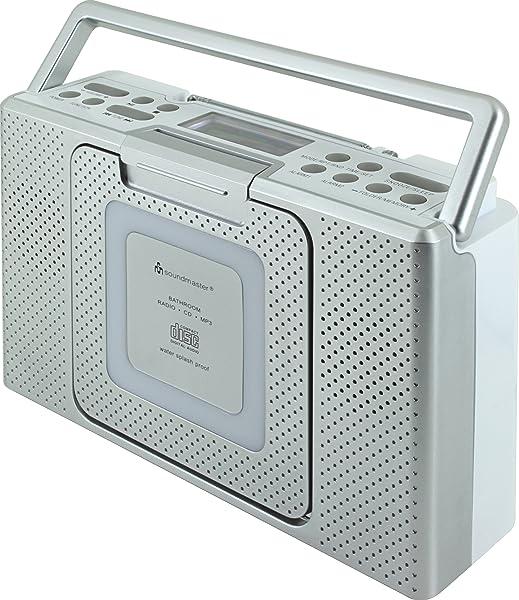 soundmaster BCD480 Splashproof Portable CD Player FM ...