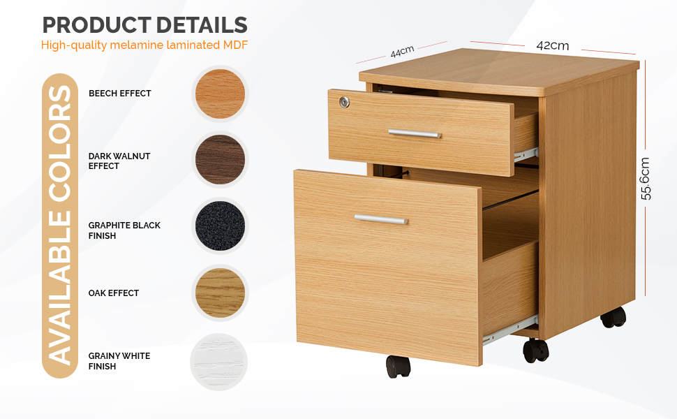 At A Practical Level The Cabinet Has Features That Will Prove Invaluable In Particular It Castor Feet Allowing To Be Moved With Ease