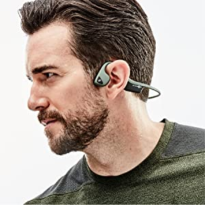 bone conduction open ear nothing in your ears hear ambient sound