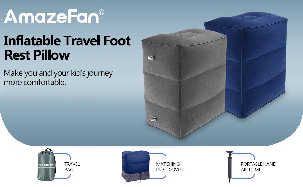 travel foot rest pillow
