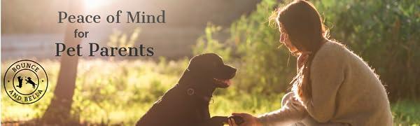 Peace of Mind for Pet parents grain free dog treats