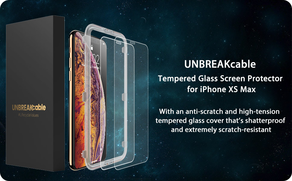 iPhone XS MAX glass screen protector iphone xs max tempered glass screen protector