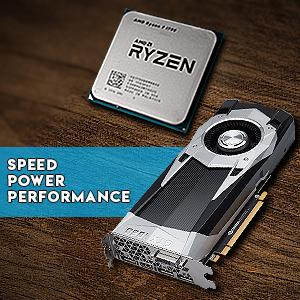 ADMI Gaming PC: Ryzen 5 2600 Six Core 12 Thread 3 9GHz, Radeon RX 580 8GB,  8GB 2400MHz, 240GB SSD, Horizon RGB Glass Case Windows 10