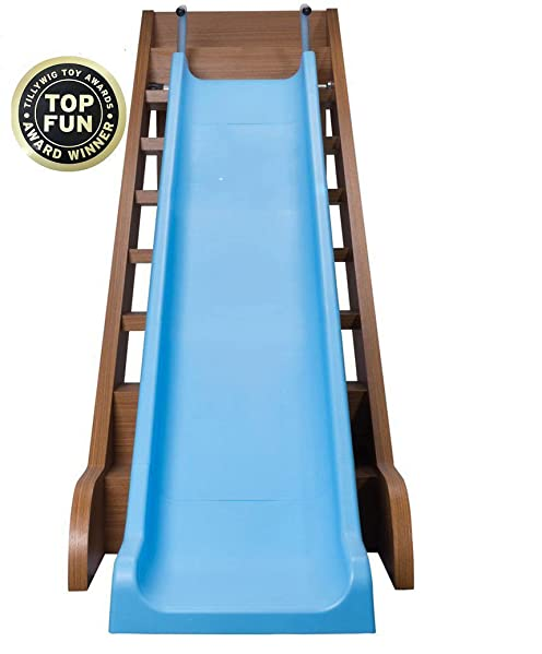 The Magic Toy Shop Kids Indoor Outdoor Slide For Stairs All Weather Fun Toddler Playground Equipment Amazon Co Uk Toys Games
