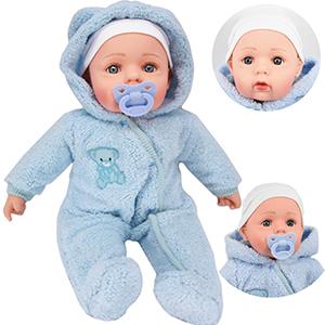 bibi blue onesie