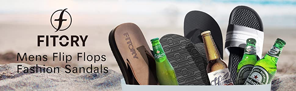 Mens flip flops fashion sandals