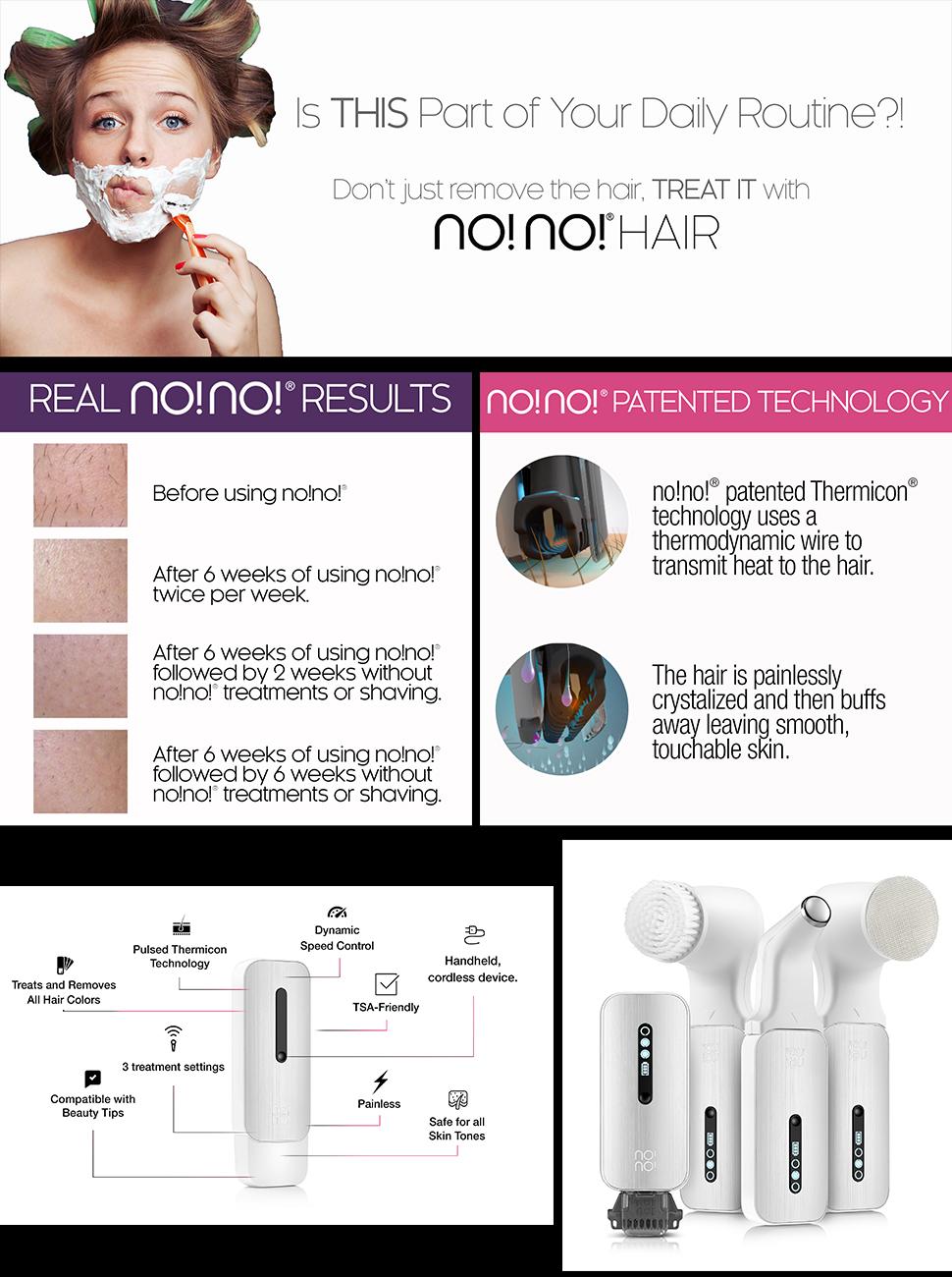 No No Ultra Hair Removal System Basic Kit Amazon Co Uk Beauty
