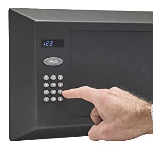 One touch combination lock Vecta safe personal safe