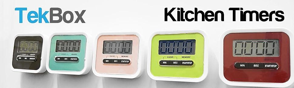 Digital Kitchen Timer With  Minute Warning Uk