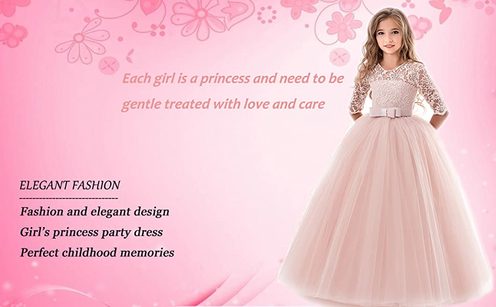elegant girls dress