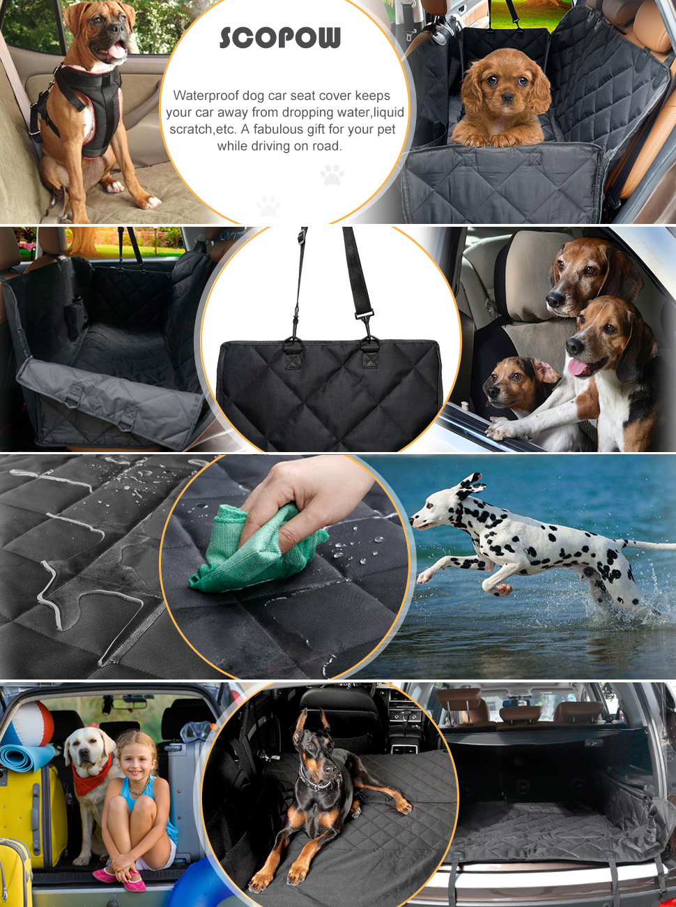 Washable Car Seat Covers For Dogs