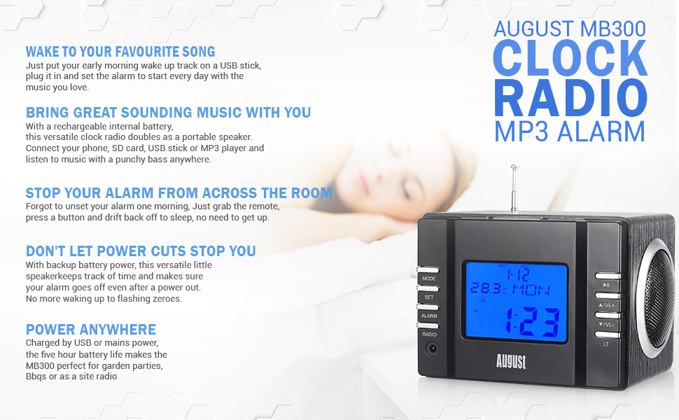 99c94155a46 Wake Up To Your Favourite Song - Put your favourite song on to a USB stick