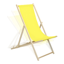 Adjustable Reclining Positions on Harbour Housewares Deck Chair