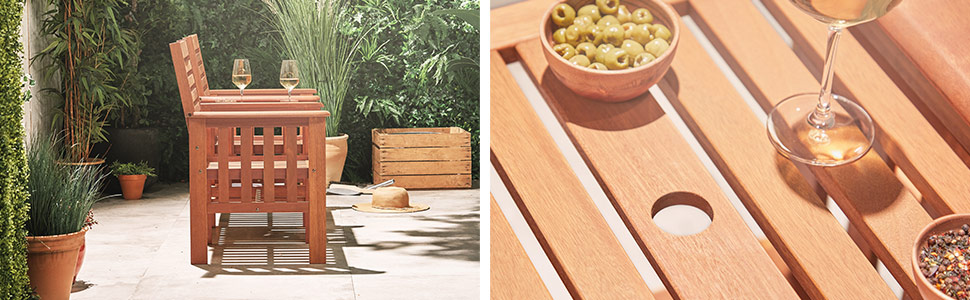 garden patio balcony deck decking area balcony wooden furniture collection stylish chic