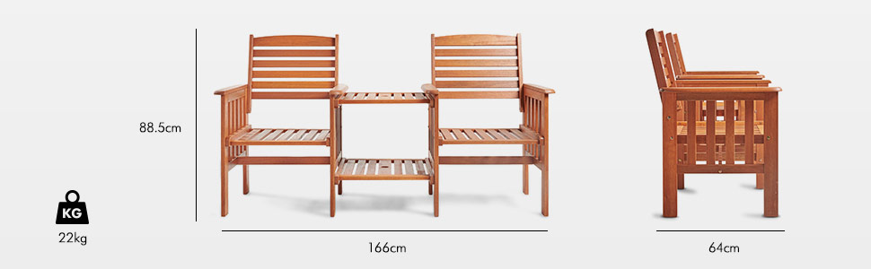 traditional wooden collection for outdoors furniture