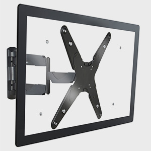 Vonhaus 23 55 Quot Tilt Amp Swivel Tv Wall Mount Bracket With