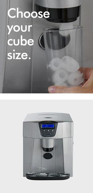 Vonshef Digital Ice Maker Dispenser Machine With Lcd