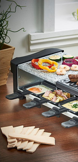 Raclette Grill Australia vonshef half rustic half traditional raclette grill with