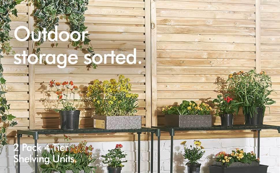 Steady 143 X 73 X 195cm 4 Tier Mini Greenhouse Iron Stands Shelves Garden Balconies Patios Decor Garden Planting Tools Home & Garden Garden Buildings