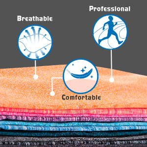 COLORFUL, PROFESSIONAL, BREATHABLE, COMFORTABLE