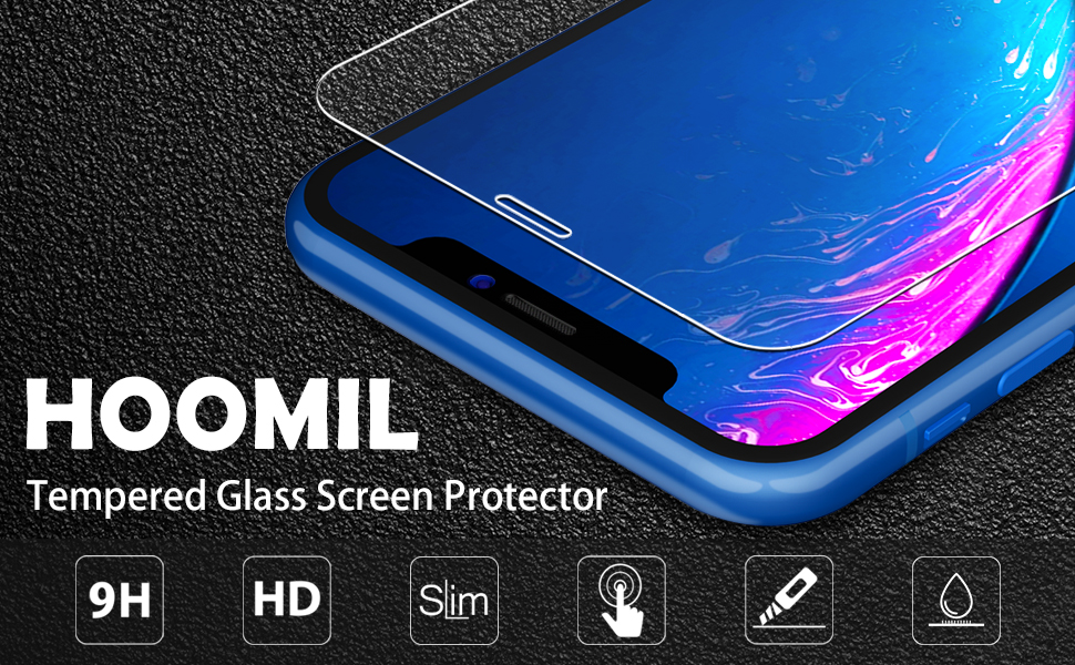 Tempered Glass Screen Protector For Apple iPhone XR