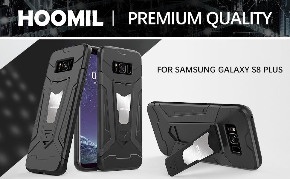 Samsung Galaxy S8 Plus Hybrid Dual Layer Shockproof Hard Cover