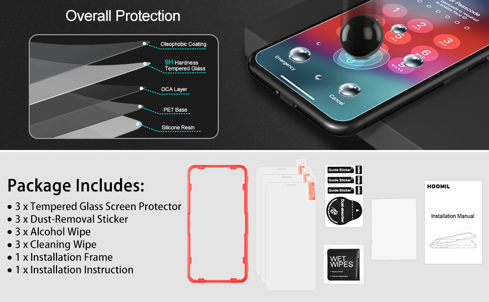 iPhone XS Screen Protector-6