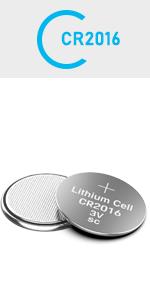 10 Pack CR2016 3V Lithium Battery CR 2016 Batteries