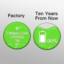 CR2032 3V Lithium Battery CR 2032 10-pack