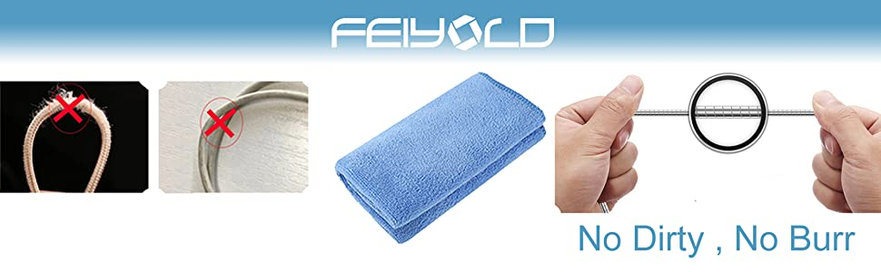 FEIYOLD micro cable without no worry about dirty and burr
