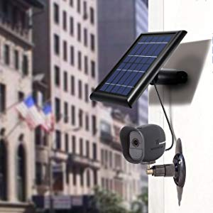 by Wasserstein NOT Compatible with Arlo Pro 2 Power Your Arlo Outdoor Camera continuously with Our New Solar Charging Device Solar Panel Compatible with Arlo Pro and Arlo GO