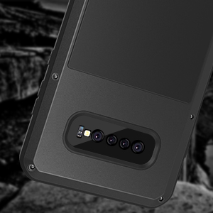 Samsung Galaxy S10 Plus Case with Screen Protector[Built-in]