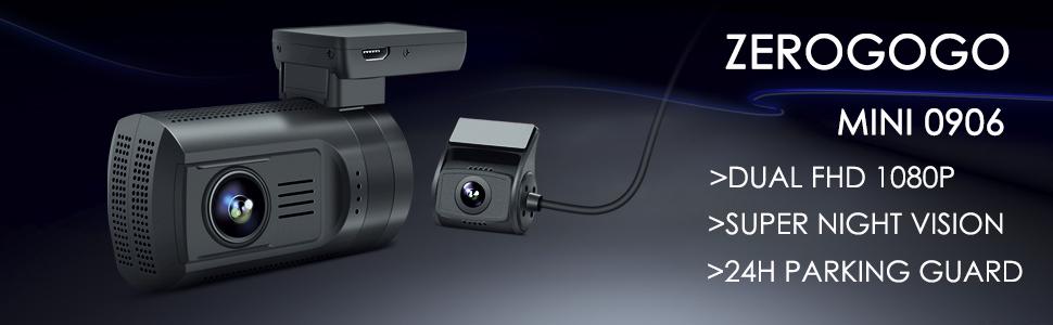 mini 0906 dual dash cam