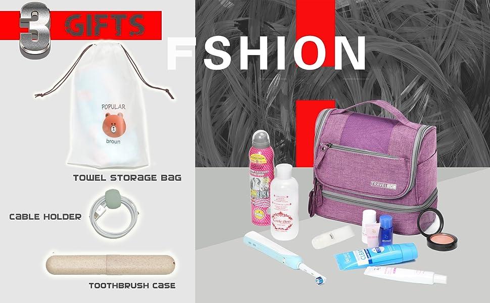 mens toiletry travel bag toiletry bag women travel hanging bag yoona makeup bag portable makeup case