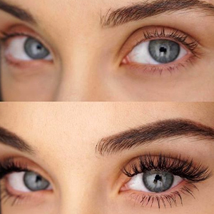 Mascara black silk fibre lash volume organic cruelty free makeup women beauty