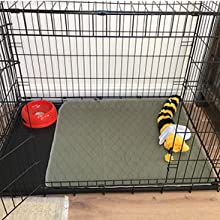 crate mat protect your wood floors carpet quilted mat