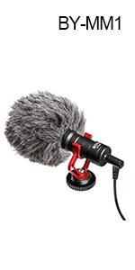 BY-MM1 Video Microphone